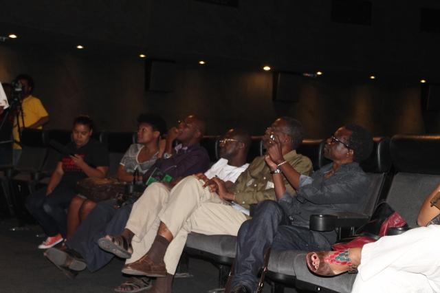 Da esquerda para a direita: Mamadou Cissé, Mansour Sora Wade, Cheick Oumar Ssissoko, Cheick Fantamady Camara.