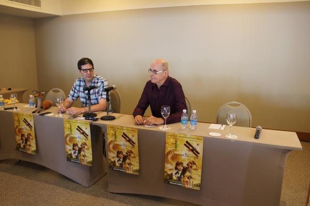 Mark Osborne (diretor da animação) Marcos Caruso (dublador da personagem; O aviador)