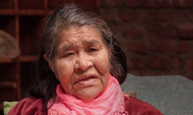 Gabriela Patarito - última da etnia Kawesqars .