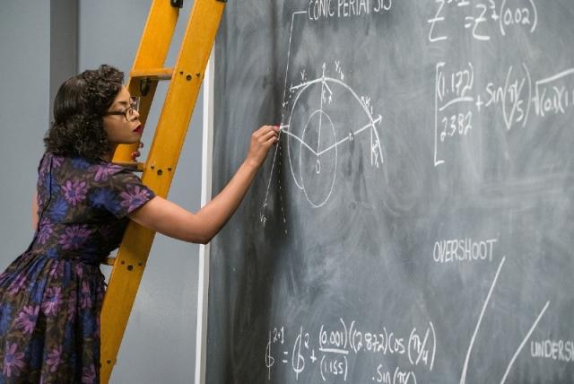 "Taraji P. Henson plays Katherine Coleman Goble Johnson, American physicist, space scientist, and mathematician in ""Hidden Figures."" (PRNewsFoto/PepsiCo)"